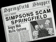 The Simpsons 09x10 : Miracle on Evergreen Terrace- Seriesaddict